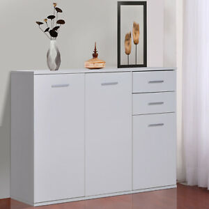 Free-Standing-Storage-Cabinet-Console-Sideboard-Table-Entryway-Organizer-Living