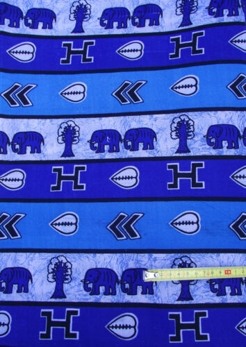 Echte Afrika Stoff Meterware Ethno Stoffe Wax Print Dekostoff Vorhangstoff