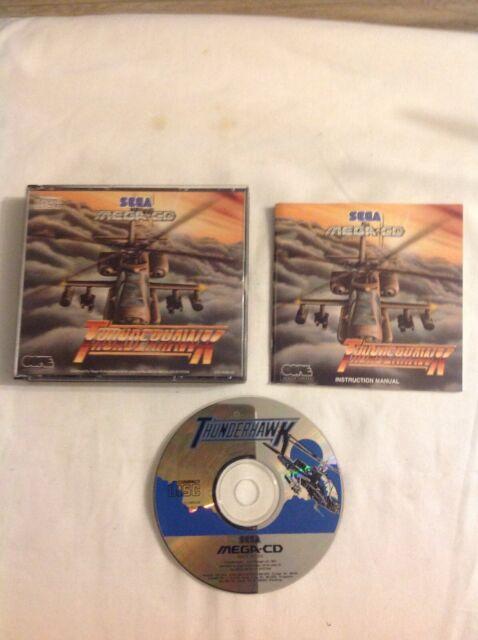 Sega Mega-CD ( Mega Drive) Thunderhawk Used Pal