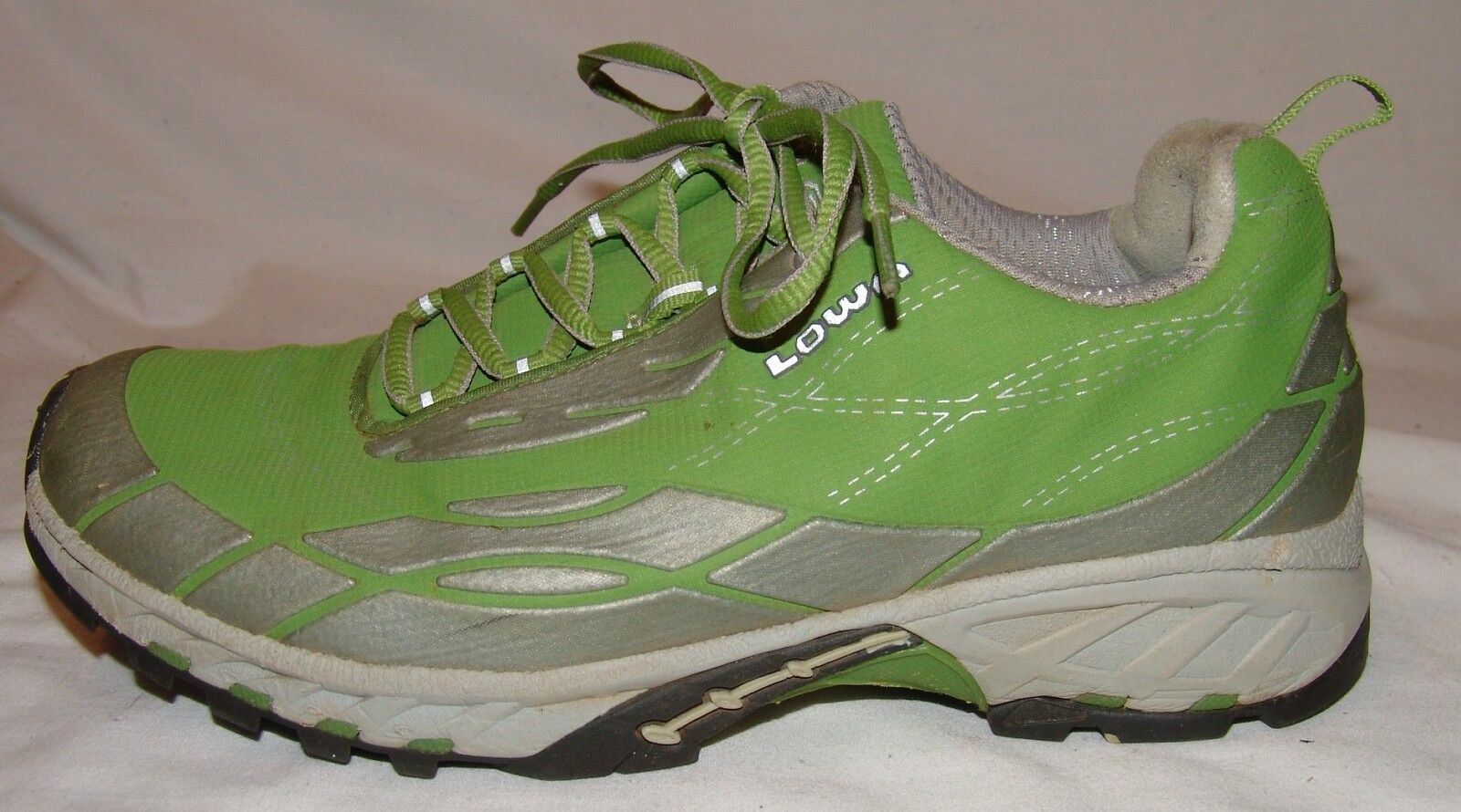 Lowa Lime Green Gray Sneakers Athletic Schuhes Damenschuhe 7.5 Trail Running Celeste Lo