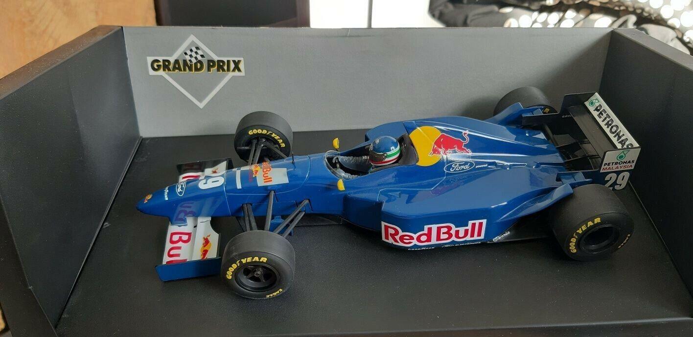 F1 1 18 SAUBER FORD rosso BULL C14 J-C BOUILLON 1995