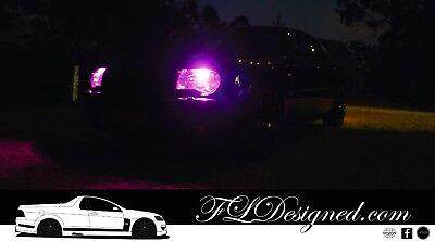 PINK Chrysler 300c L.E.D Headlight Parker Light Bulbs