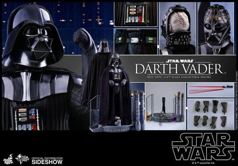 HT Hot Juguetes MMS452 5 Estrella Wars Darth Vader 4.0 En Stock Hot Juguetes Modelos Nuevos