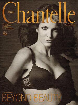 2007 Magazine Advertisement for Chantelle Bras Lingerie Stephanie Seymour  032014   eBay