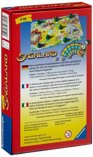 1 von 1 - Ravensburger 23318 - Sagaland - Mitbringspiel