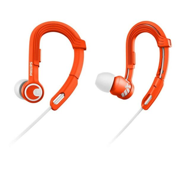 Philips ActionFit SHQ3300OR/00 Orange Ohrbügelkopfhörer Sportkopfhörer wasserfes