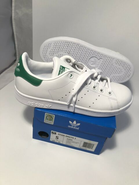separation shoes ba71a 47a34 Adidas Originals Stan Smith Forever White Green Casual Shoes M20605 Women  size 5
