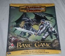 2004 WOTC Dungeons & Dragons Basic Game w Painted Miniatures missing 1 mini