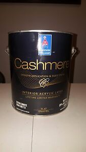 Details About Sherwin Williams Interior Beige Cashmere Paint Brand New From The