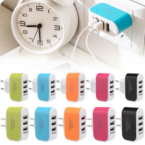 Multiple-3Port-USB-Travel-Wall-Charger-AC-Power-Adapter-For-iPhone-Samsung-Top