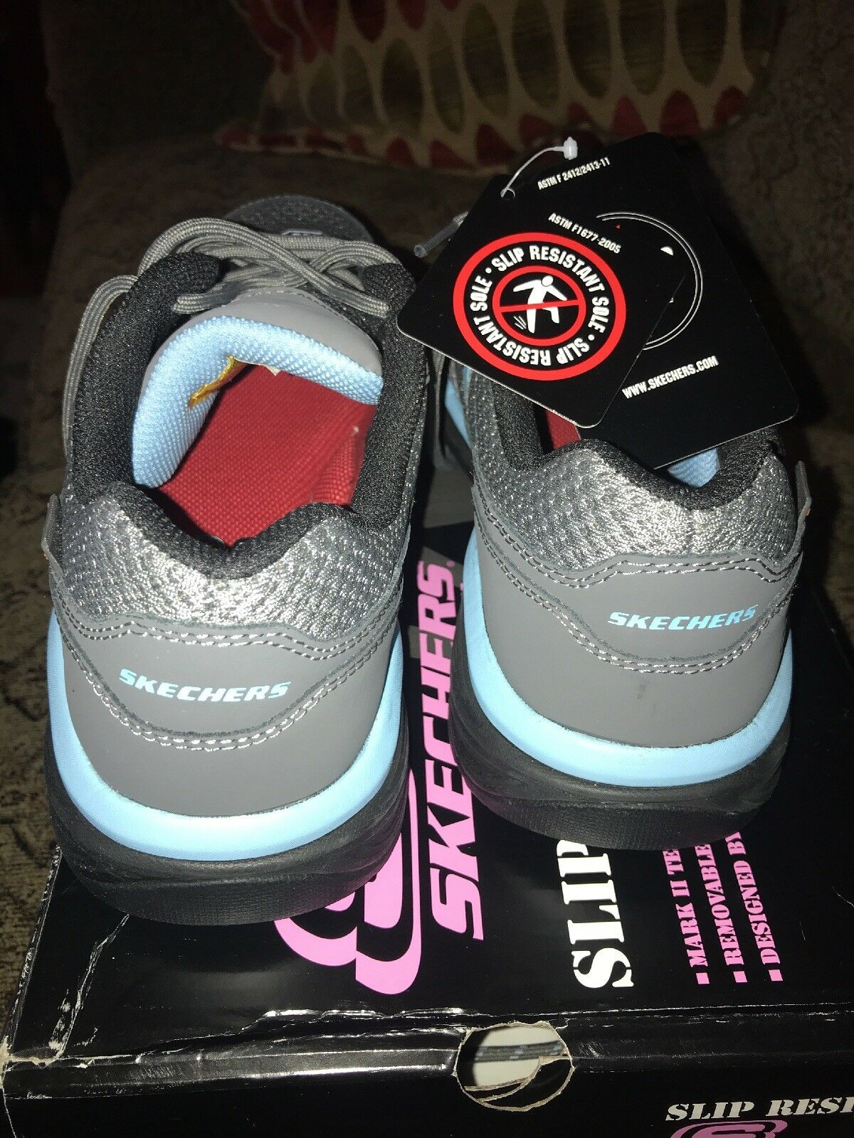 Skechers slip resistant resistant slip size 10 conroe abbenes 76587 90b323