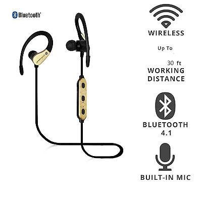 Sports Earbuds Bluetooth Headset Headphones for iPhone 7 6 6s 5 Samsung Motorola