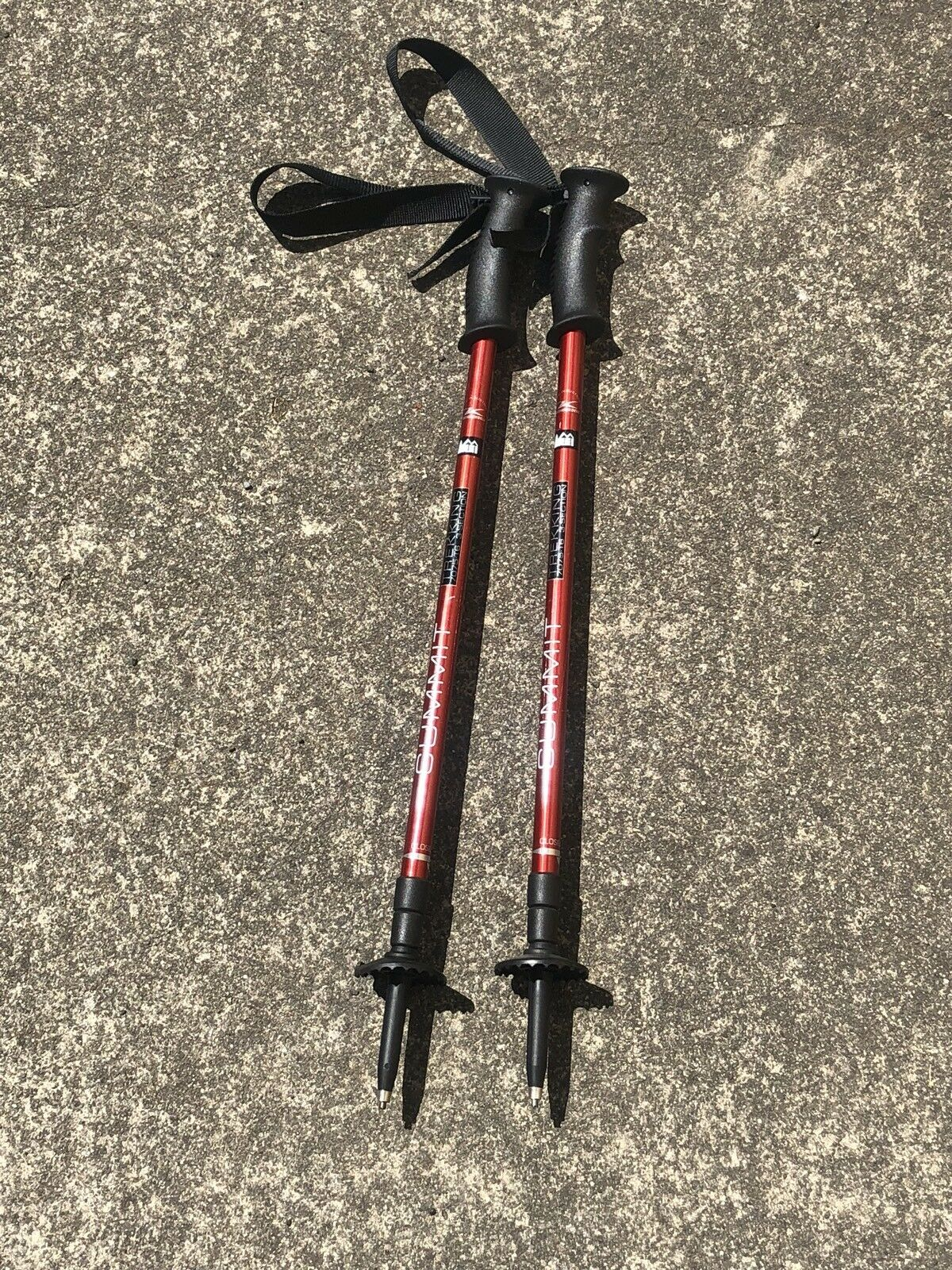 REI (Summit) Trekking Poles 7075 T6, 3 Section Telescoping, Komperdell Austria