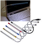 Flexible10 LED USB Keyboard Light night Lamp for Reading Notebook Laptop Plug