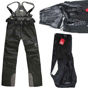New-Men-039-s-Outdoor-Waterproof-Ski-Snow-Pants-Overalls-Cargo-Trousers-Salopettes