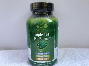 Irwin Naturals - Triple-Tea Fat Burner - 75 Softgels Best By 3/2019 or Later