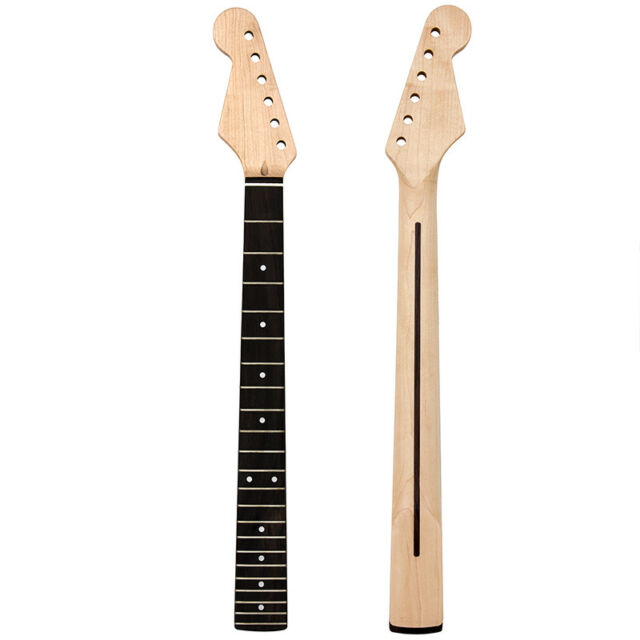 Left Handed Electric Guitar Neck For St Parts Replacement 22 Fret Maple by Kmise