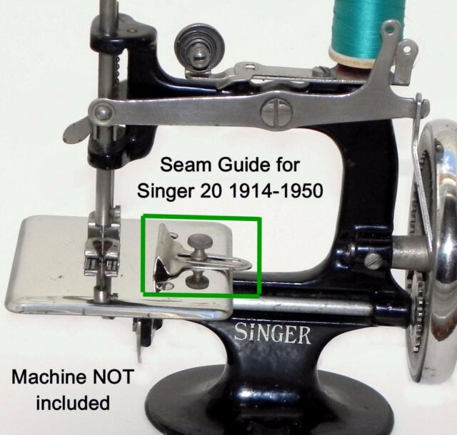 Singer 40 Toy Child Sewing Machine Parts Seam Cloth Fabric Guide EBay Inspiration Singer 20 Sewing Machine