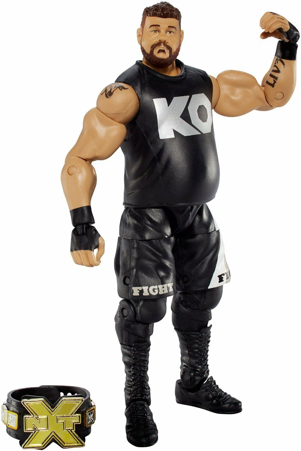 Official WWE - Mattel Elite Series 43 NXT Raw Kevin Owens Action Figure