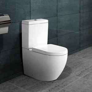 bodenstehend kombination stand wc mit nano beschichtung softclose b2376a ebay. Black Bedroom Furniture Sets. Home Design Ideas