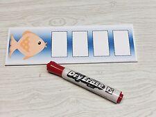 Goldfish - Shapes Tracing - Laminated Activity Set - Teaching Supplies