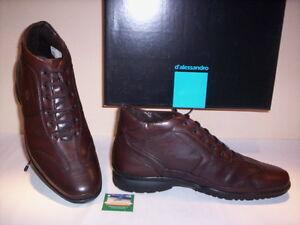 Bottes Desert D'alessandro Chaussures Homme Boots Montantes Cuir Décontractée ZazWqw4vx7
