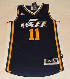 pick up ed20e 05f86 Details about Utah Jazz NBA Adidas Authentic Swingman Basketball Jersey  EXUM #11 Size XS New