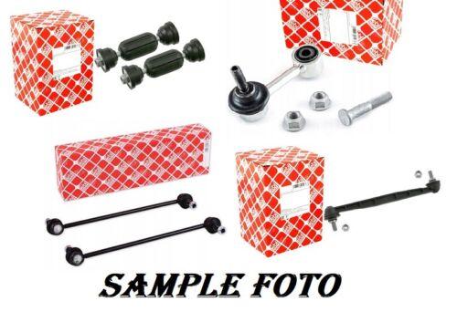 2x Febi 06639 Rear Stabiliser Anti Roll Bar Drop Links BMW  New