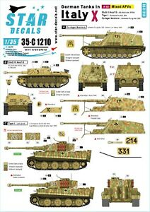 Star-Decals-1-35-German-tanks-in-Italy-10-Mixed-AFVs-35c1210
