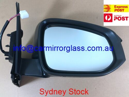 SILVER, ELECTRIC NEW DOOR MIRROR FOR TOYOTA RAV4 2013-2018 RIGHT SIDE