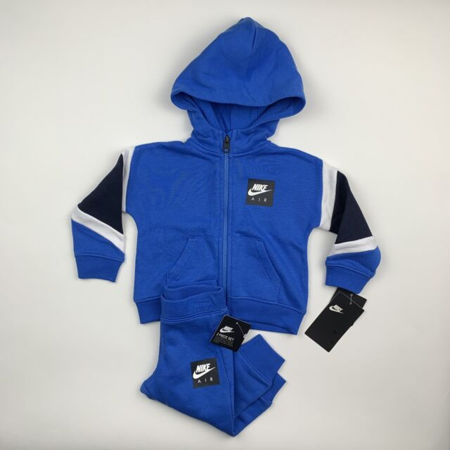 6cd5554fe Baby Boys Nike Air 2-piece Tracksuit Blue - 12 Months 66d639-u9h for ...