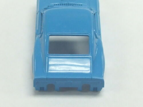 Aurora Vintage T-Jet Slot Car 69 FORD MUSTANG Body BABY BLUE Color HO Scale