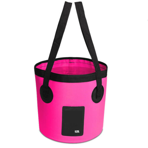 10C7 Portable GBD Folding Bucket Fishing Bucket Collapsible Sink Water Pot Bag