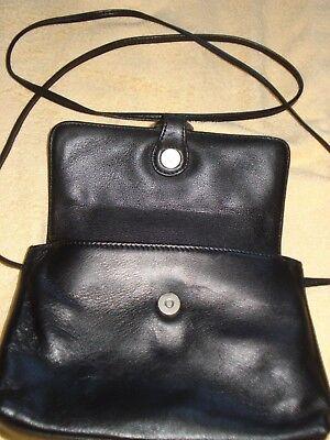 Handtasche klein, schwarz, FUNCY, ca. 20 x 14 cm