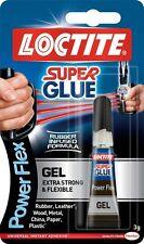 LOCTITE Sekundenkleber Power Flex Gel Flexibel Selbstklebend 3g ROHR