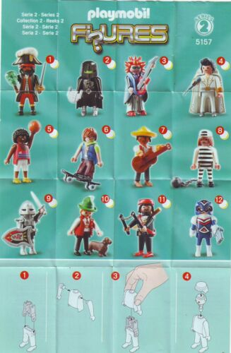 - Figure #12 Boys 5157 Figuren; Series 2 Space Hero PLAYMOBIL Figures