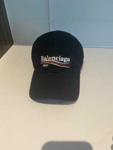 Authentic Balenciaga Campaign Hat Black Cap  - image 1
