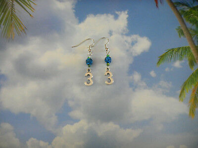 Seattle Seahawks Beaded Hoops Gift for Women and Girls Small Gift for Seahawks Fan Hypoallergenic Blue and Green Earrings