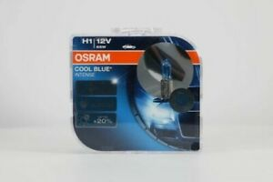 H1-55W-x2-Osram-Headlight-Fog-Light-Bulbs-Xenon-Look-4200K-Cool-Blue-Intense