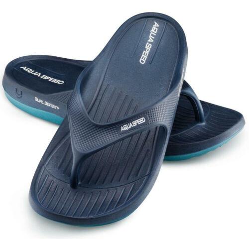 Damen Herren Flip-Flops Badelatschen Badeschuhe Zehentrenner Aqua-Speed 36-45