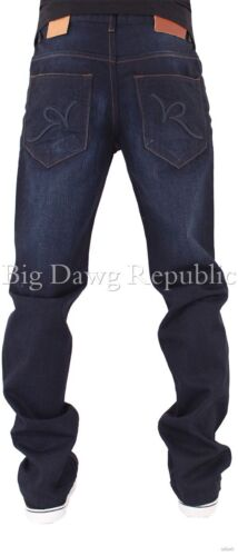 G tempo è denaro Rocawear DKB Men/'s Jeans Firmati doppio R Hip Hop Star