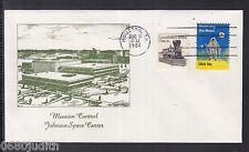 "A 41 ) USA 1984 - schöner Beleg "" Mission Control Johnson Space Center"""