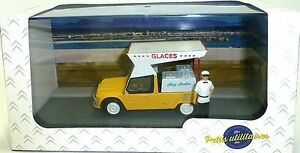CITROEN-Mehari-Marchand-de-Glace-Wagon-Atlas-1-43-Neuf-Emballage-D-039-Origine