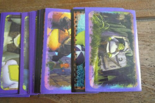 VGC! 2004 Pick /& Choose The Stickers You Need! Panini Shrek 2 Stickers