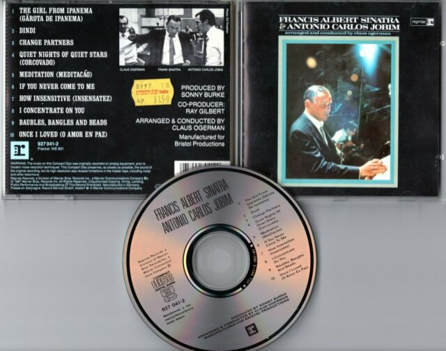 Francis ( Frank) Albert Sinatra & Antonio Carlos Jobim CD SAME s/t - Bossa Nova
