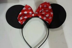 MINNIE-MOUSE-EARS-HEADBAND-FANCY-DRESS-DISNEY-SPOTTED-ONE-SIZE