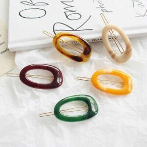 Fashion-Women-Acrylic-Hair-Clip-Bobby-Barrette-Stick-Hairpin-Hair-Accessories
