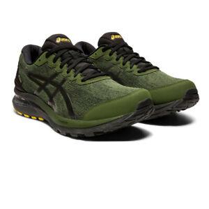 Asics Homme Gel-Cumulus 22 Gore-Tex Chaussures De Course Baskets Sneakers Vert Sports