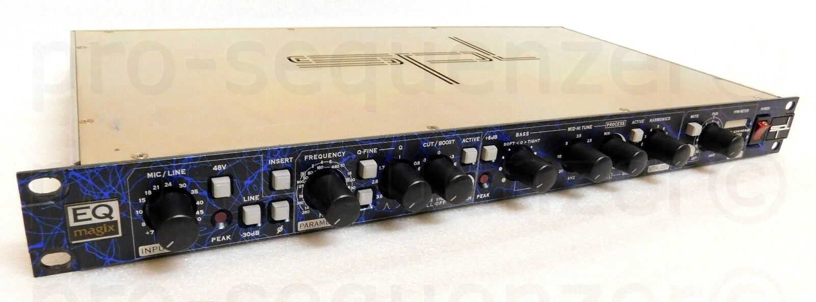 SPL EQ Magix Mic Preamp hög-End Channel + Stereo Out + SPL Vitalizer + Garantie