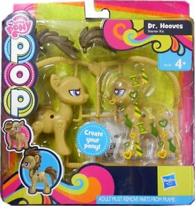 my little pony pop set create your own pony dr hooves hasbro gift